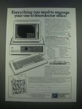 1985 Wausau IBM Personal Computer XT Ad - $14.99