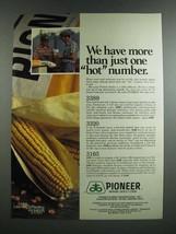 1986 Pioneer Brand Seed Corn Ad - 3389, 3320, 3165 - $14.99