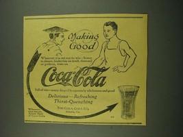 1915 Coca-Cola Soda Ad - Making Good - $14.99