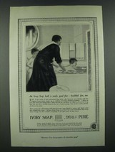 1919 Ivory Soap Ad - Bath Is Really Good Fun - $14.99
