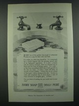 1919 Ivory Soap Ad - People of Refinement Desire - $14.99