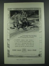 1919 Ivory Soap Ad - It Seems Natural To Trust - $14.99