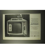 1964 General Electric Personal Portable Television Ad - What Else Do I Get - $14.99