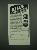 1938 McCormick Red Arrow Garden Spray Ad - Kills Garden Insects - $14.99