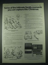 1975 Philips Cassette Recorders Ad - N2218 and N2222 - $14.99