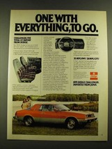 1979 Dodge Challenger Ad - One With Everything, To Go - $14.99