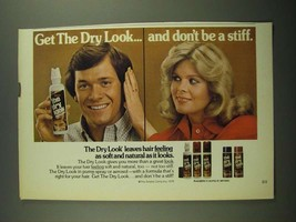 1979 Gillette The Dry Look Ad - Don't Be a Stiff - $14.99