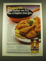 1979 Planters Oil Ad - Crispy Herb Fried Chicken recipe - $14.99
