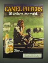 1986 Camel Filters Cigarettes Ad - It's a Whole New World - $14.99