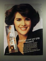 1986 Clairol Loving Care Color Mousse Ad - Don't Just Cover Your Gray - $14.99