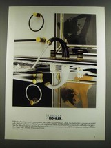 1986 Kohler Cygnet Valve, Faucets and Accessories Ad - $14.99