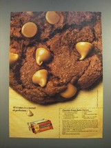 1986 Nestle Peanut Butter Morsels Ad - Chocolate Peanut Butter Chewies r... - $14.99