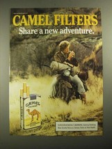 1987 Camel Filters Cigarettes Ad - Share a New Adventure - $14.99