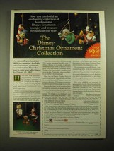 1987 Grolier The Disney Christmas Ornament Collection Ad - Enchanting - $14.99