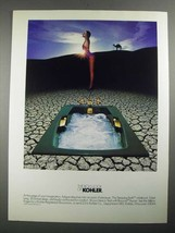 1987 Kohler Steeping Bath Whirlpool and Bravura Faucet Ad - $14.99