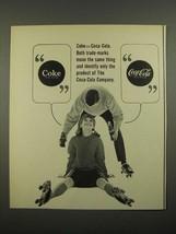 1964 Coke Coca-Cola Soda Ad - Coke=Coca-Cola - $14.99