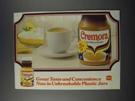 1986 Borden Cremora Non-dairy Creamer Ad - Great Taste and Convenience - $14.99