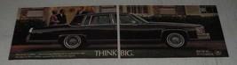 1986 Cadillac Fleetwood Brougham Ad - Think Big - $14.99