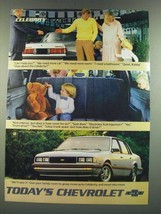 1986 Chevrolet Celebrity Ad - Can I Help You? - $14.99