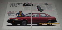 1986 Chevrolet Nova Ad - It Gives So Much and Asks So Very Little In Return - $14.99