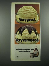 1987 Hershey's Syrup Ad - Very Good. Very Very Good - $14.99
