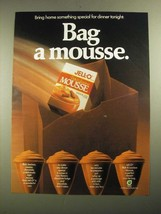 1987 Jell-O Mousse Ad - Bag a Mousse - $14.99