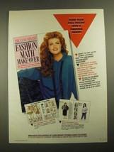 1987 Lane Bryant Fashion Ad - Your Full Figure - $14.99