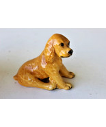 COCKER SPANIEL DOG SPRINGER STATUE FIGURINE Cer... - £14.62 GBP