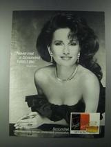 1987 Revlon Scoundrel Perfume Ad - Susan Lucci - $14.99