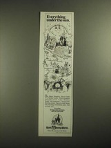 1987 Walt Disney World Ad - Everything Under the Sun - $14.99