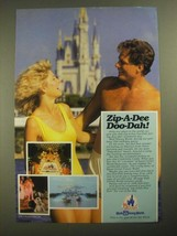 1987 Walt Disney World Ad - Zip-A-Dee Doo-Dah - $14.99