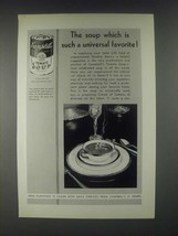 1931 Campbell's Tomato Soup Ad - Such a Universal Favorite - $14.99