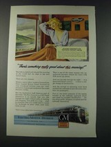 1947 GM General Motors Diesel Locomotive Ad - New York Central Train - $14.99