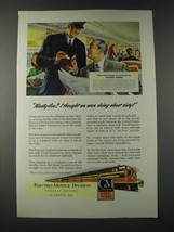 1947 GM General Motors Diesel Locomotive Ad - Panama Limited train - $14.99