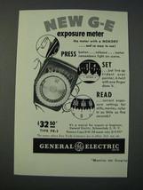 1948 General Electric DW-58 Exposure Meter Ad - $14.99
