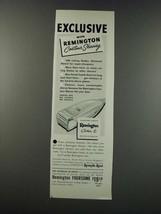 1949 Remington Contour 6 Electric Shaver Ad - Exclusive - $14.99