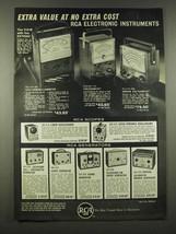 1962 RCA Electronic Instruments Ad -Volt-Ohm-milliammeter, Voltohmyst - $14.99
