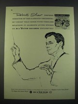 1960 RCA Victor Records Ad - Robert Shaw Stephen Foster Song Book Album - $14.99