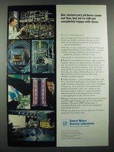 1966 GM General Motors Research Laboratories Ad - Our Anniversary Pictures - $14.99