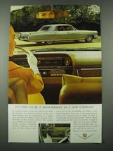 1964 Cadillac Car Ad - It's Easy to be A Weatherman - $14.99