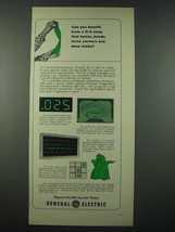 1965 General Electric EL Electroluminescence Ad - Can You Benefit - $14.99