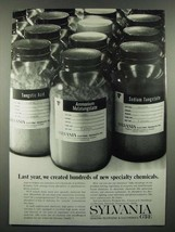 1966 GT&E Sylvania Chemical & Mettallurgical Division Ad - Last Year - $14.99