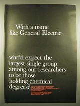 1966 General Electric Chemical & Metallurgical Division Ad - $14.99