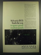 1966 GT&E Sylvania Electronic Components Group Ad - Space-Proof Panels - $14.99