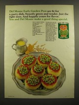 1967 Del Monte Early Garden Sweet Peas Ad - Peas & Onion Paprika recipe  - $14.99