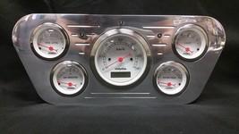 1953 1954 1955 FORD TRUCK 5 GAUGE GAUGE CLUSTER METRIC - $224.05