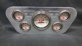 1953 1954 1955 FORD TRUCK 5 GAUGE GAUGE CLUSTER SHARK - $224.05