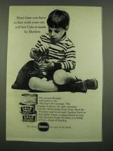 1970 Borden Calo Cat Food Ad - Have a Chat With Your Cat - $14.99