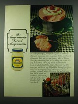 1970 Kraft Mayonnaise Ad - Candlelight Souffle recipe - $14.99