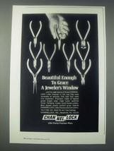 1978 Channellock Little Champ Precision Pliers Ad - Grace a Jeweler's Window - $14.99